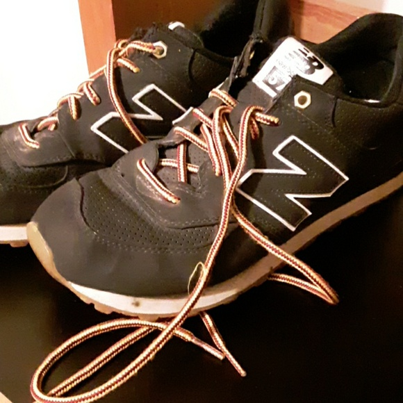 New Balance Other - Sz 10.5 black new balance sneakers 574